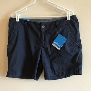 Columbia navy blue shorts - womens 12 - NWT